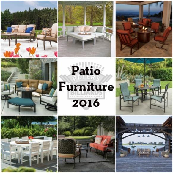 2016 Patio Furniture Arriving Entertaining Design