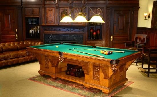 Antique Pool Table Restoration: Part #2 - Entertaining Design