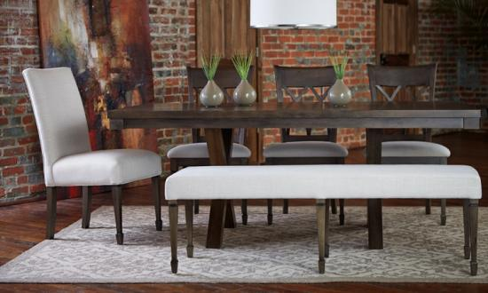 The Bench Does Not Have To Match Your Chairs Exactly But Instead Can Offer A Coordinating Style Overall Dining Aesthetic