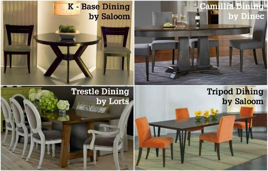 most customers prefer the standard 2930u201d dining table height but they are looking for a casual dining space so they choose to go with