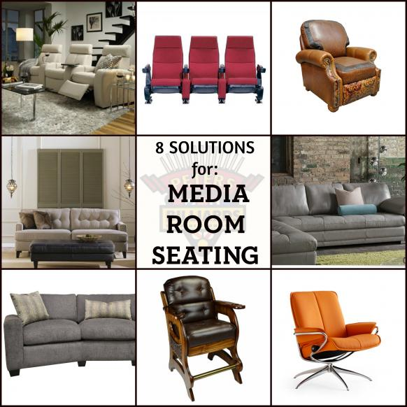 Eight Solutions For Media Room Seating