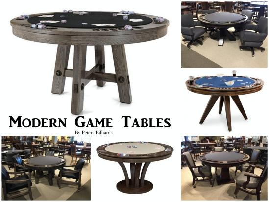 Now Trending: Modern Game Tables