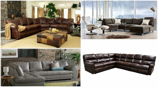 L Shaped Sectionals, Such As Pictured In The Photo, Tend To Be Used In The  Upper And Lower Level Family Rooms While The U Shaped Sectionals Have Been  Used ...