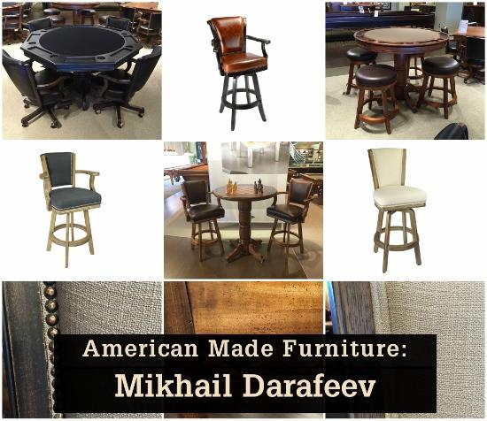 American Made Furniture Companies List: Entertaining Design