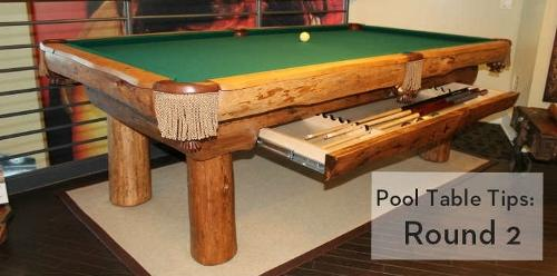 Beautiful Pool Table Tips: Round 2