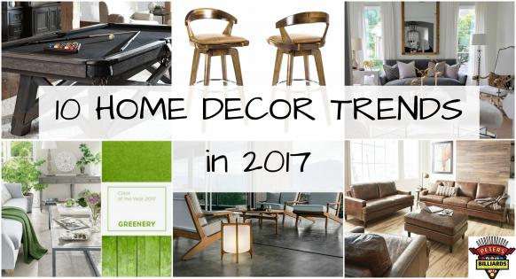 10 Home Decor Trends To Look For In 2017