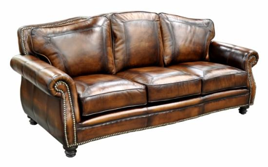 An Aged Leather Sofa And The Right Accessories Can Really Add Character To  Your Room And Bring In That U201cFixer Upperu201d Look.