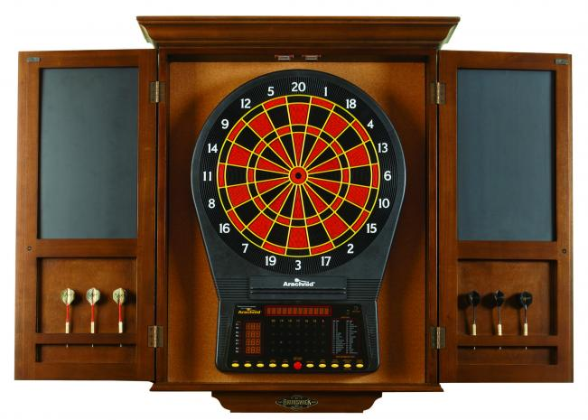 Brunswick Dartboard Cabinet Peters Billiards