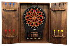 Arachnid Cricket Pro 900 Talking Dart Board Peters Billiards