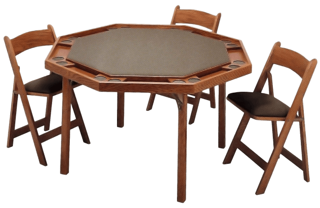 Maple Folding Card Table 83 Peters Billiards