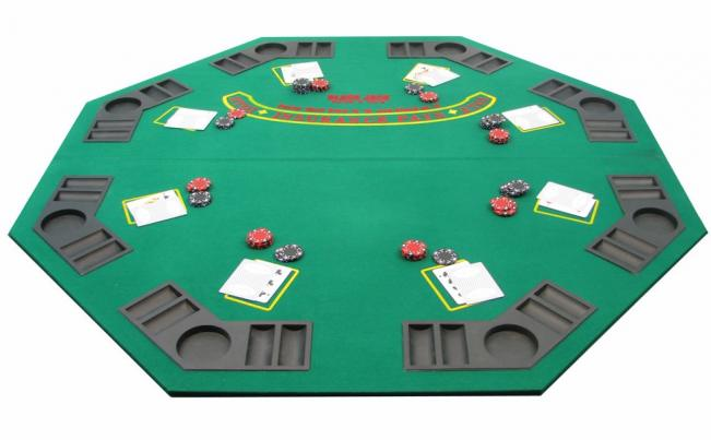Single Sided Poker Table Top Peters Billiards