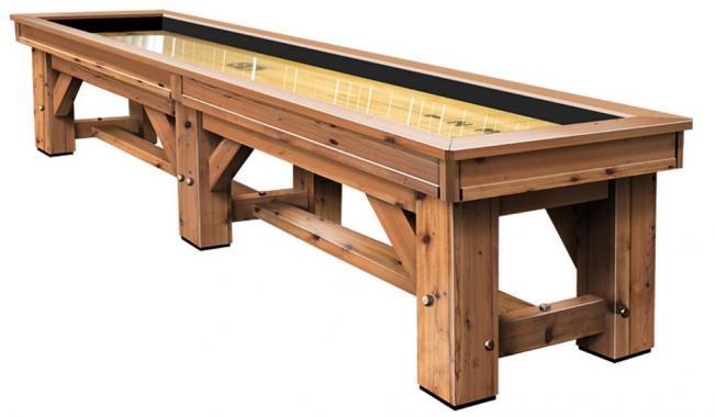 Timber Ridge Shuffleboard Table Peters Billiards
