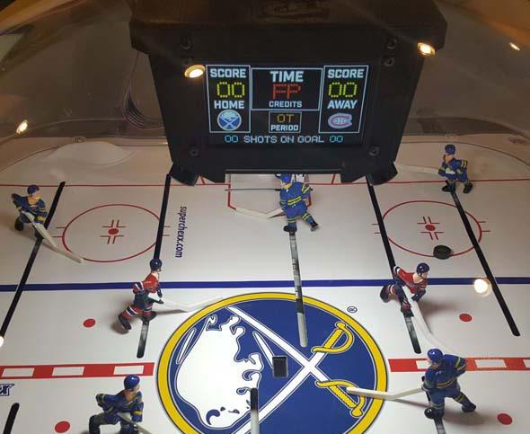 Bubble Hockey Super Chexx Pro Nhl Peters Billiards