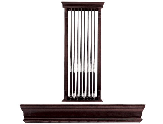 Eclipse 702 Wall Rack Peters Billiards