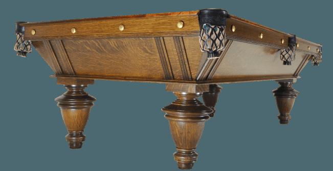 Narragansett Oak Peters Billiards
