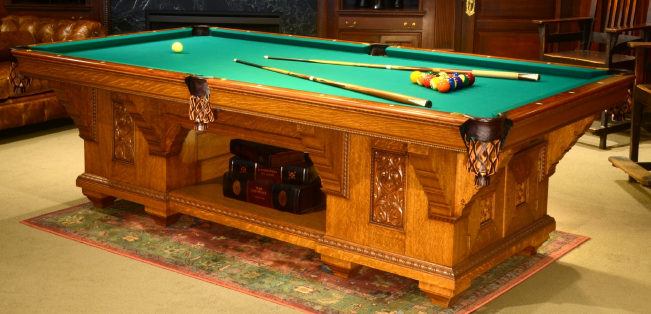 Cabinet 1 Peters Billiards