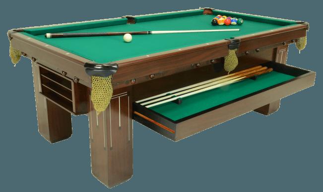 Baby Grand Mahogany Peters Billiards