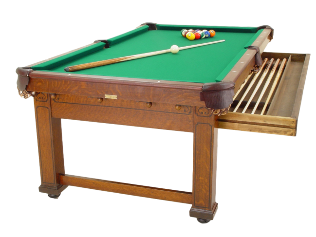 Baby grand convertible oak peters billiards - Table billard transformable ...