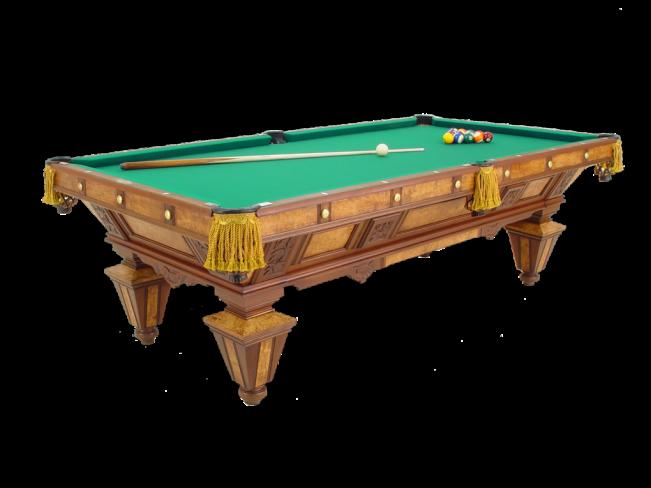 Manhattan Mahogany Peters Billiards - Brunswick manhattan pool table