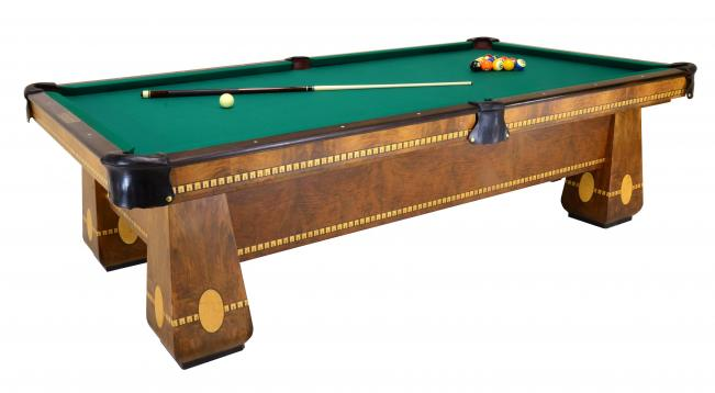 Medalist With Ball Return Peters Billiards - Brunswick monarch pool table