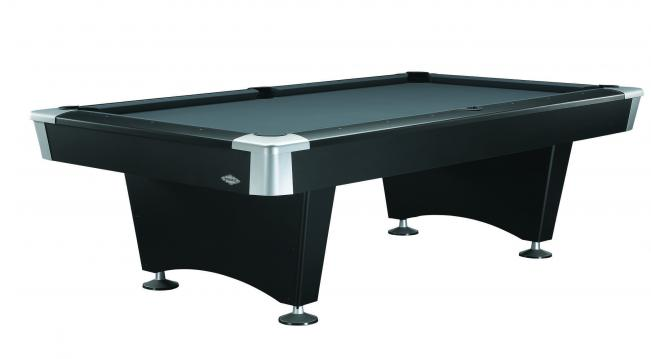 Charmant Black Wolf II Pool Table