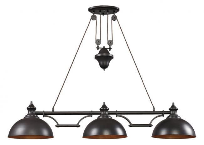Farmhouse Billiard Light Peters Billiards