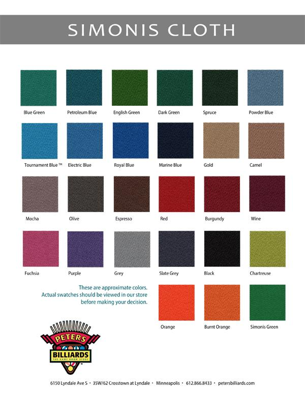 Championship Invitational Cloth S The #1 Selling Home Billiard Cloth In The  World. The Added Feature Of DuPont™ Teflon® Makes This The Perfect Product  For ...
