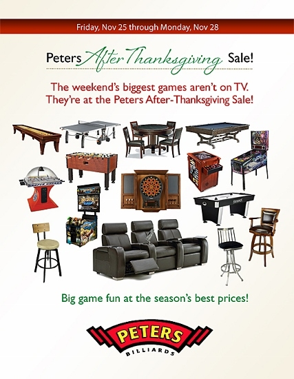 Peters After Thanksgiving Sale Entertaining Design