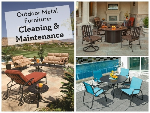 Outdoor Metal Furniture Cleaning And Maintenance
