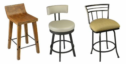 Kitchen Stools With Backs Bar Stools With Backs And