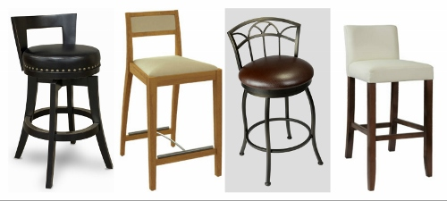 """What\'s Trending in Kitchen Stools? The """"Mini-Back"""" Stool ..."""