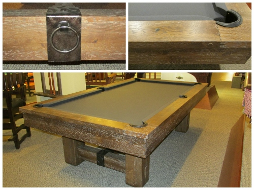 Artisan Designs Pool Table buy a pool table here at best quality billiards Artisan Joinery This Classic Design Provides Rugged And Rustic Qualities With The Modern Technology Of Precision Stability And Playability